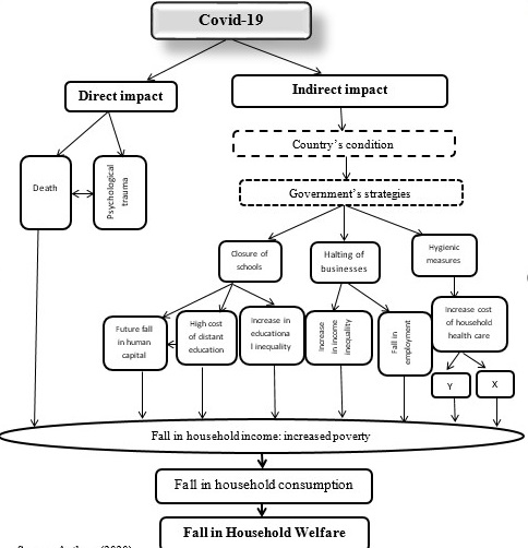 The Conceptual Framework of Covid-19 and Household welfare