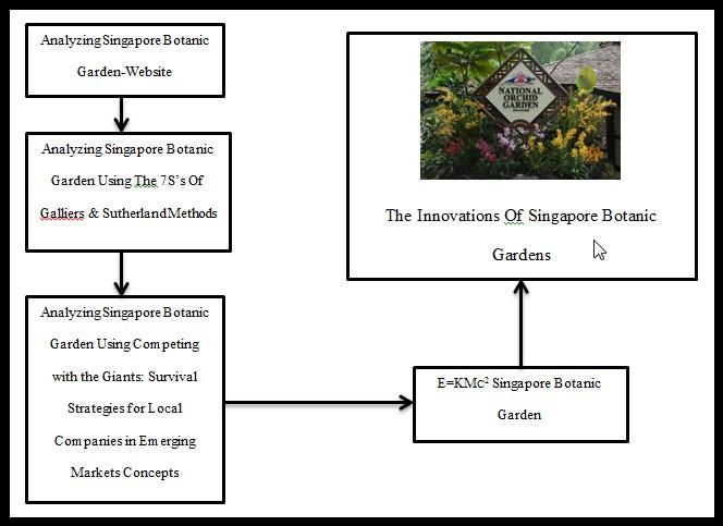 A process of Analyze & Innovations Singapore Botanic Garden
