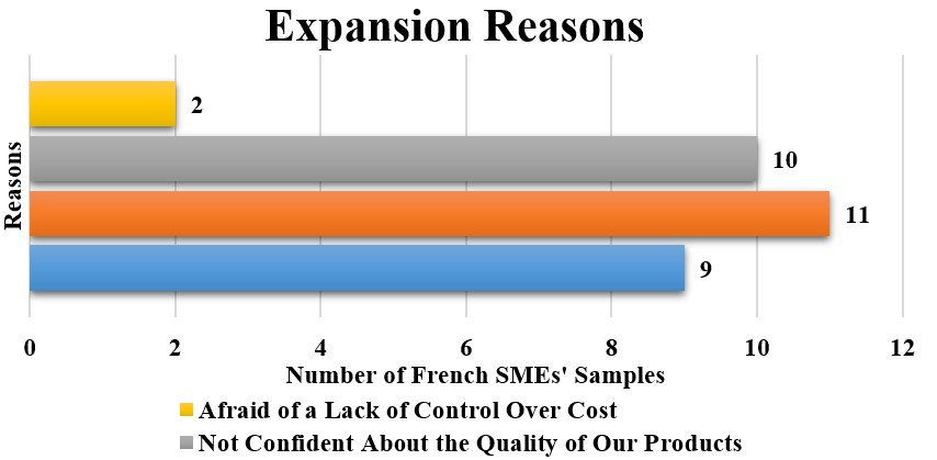 Reasons French SMEs Reluctant to Expand Business in Abroad